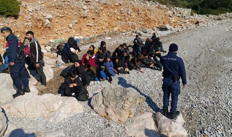 22 göçmen yakalandı