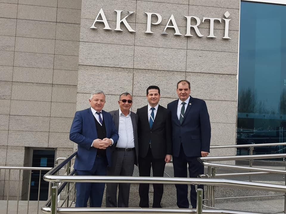 """AK Parti'den """"Türkiye İçin İnandığın Yolda Yürü"""" Toplantısı"""