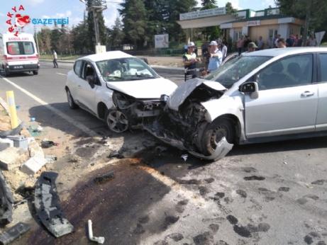 İpsala'daki kazada 4 kişi yaralandı