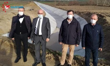 Altınyazı Barajı'nda Çalışmalar Tamamlandı